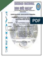 """12) """"Orientaciones Didácticas Matemáticas Para El Nivel 2 (Grados Medios);"""