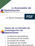 Tópicos Avanzados de Optimización
