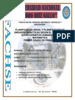 10) Planificación Anual y Planificación de Unidades Didácticas Según El Paradigma Socio-cognitivo Humananista