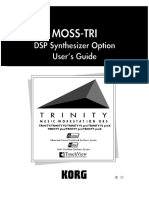 Korg Trinity Manual - Expansion Option - MOSS-TRI