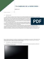 Tv Smart Reparación de Tvs Samsung de La Serie d5500
