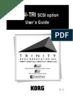 Korg Trinity Manual - Expansion Option - SCSI-TRI