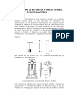 Estado General de Esfuerzos y Estado General de Deformaciones (1)
