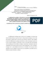 Articulo - Alfabetización Tecnológica Para El Ejercicio de Ciudadanía