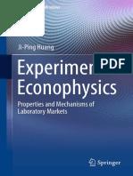 Experimental Econophysics