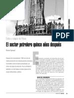 El Sector Petrolero Quince Años Después