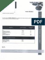 Certificado de Calidad Carbón Activado CLARIMEX