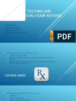 pharmacy technician certification exam review slide presentation