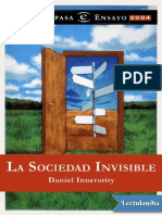La Sociedad Invisible - Daniel Innerarity
