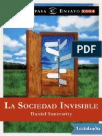 La Sociedad Invisible - Daniel Innerarity