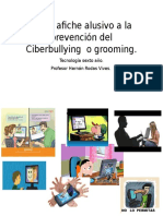 Crear Afiche Alusivo a La Prevención Del Ciberbullying