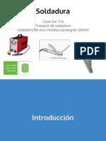 Proceso de Soldadura de Arco Metalico Protegido Smaw