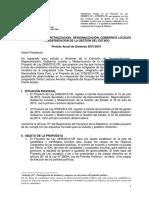 Predictamen PL 3759 - Cuota de Género en Consejo de Ministros