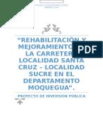 Rehabilitación y Mejoramiento de la Carretera Localidad Santa Cruz.docx