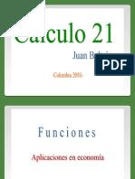 Funciones (lineal, cuadratica, exponencial, logaritmica) aplicadas en economia