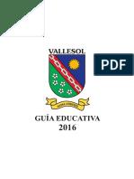 Guía Educativa Vallesol 2016