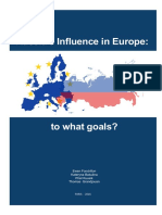 Russia's Influence in Europe