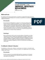 Lecciones Anatomía Patológica - Urolitiasis