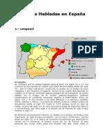 Tema N° 4 Complementario lenguas España
