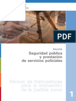 Public Safety and Police Service Delivery Spanish