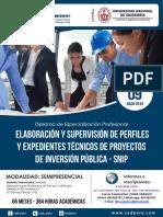 Dossier Snip Huanuco-EXPEDIENTES TÉCNICOS DE OBRAS