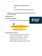 Multi-BCF and Common BCCH