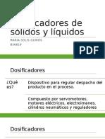 B36819_Dosificadores de Sólidos y Líquidos