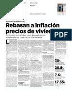 27 - 06 - 16 Rebasan a inflación precios de vivienda