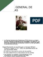 Xi. Teoria General de Sistemas