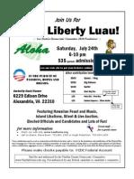 LeeDems 2010 Liberty Luau