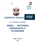 CARPETA PEDAGOGICA MARGOTH