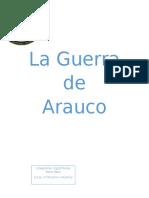 LA GUERRA DE ARAUCO