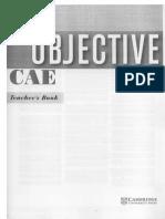 Objective CAE Teacher