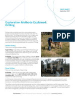 Fact Sheet Drilling