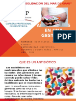 Antibioticos en Gestantes