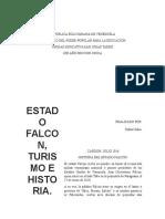 Historia Del Estado Falcon