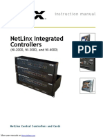 NetLinx Integrated Controllers NI-3000