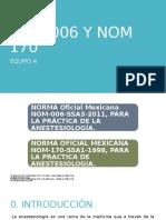 NORMA OFICIAL MEXICANA 006 Y 007