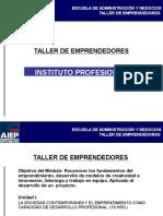 [PD] Presentaciones - Emprendedores e Innovacion