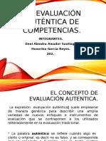 La Evaluación Auténtica de Competencias