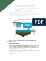 PRACTICA  floculacion-coagulacion