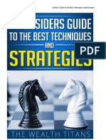 Insiders Guide to the Best Techniques and Strategies
