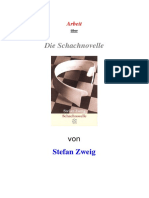 Zweig, Stefan. {Schachnovelle}