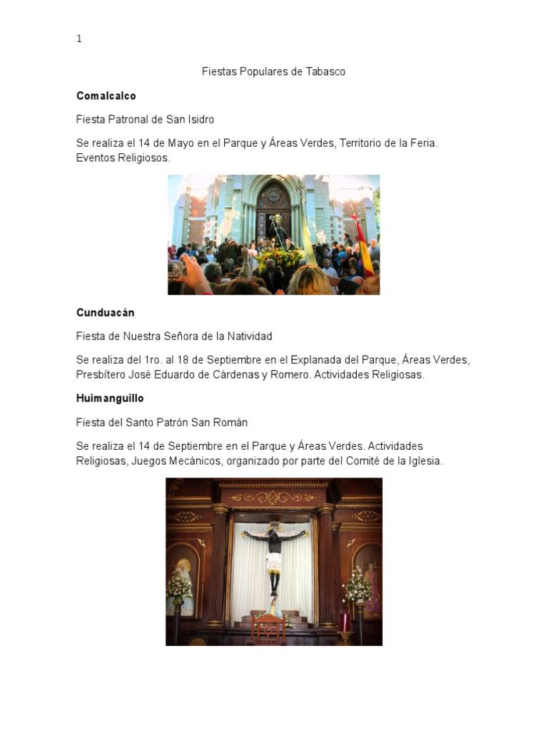 Fiestas Populares de Tabasco