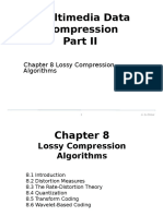 It342 Multimedia Data Compression Part II