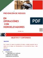 Prevencion de Riesgos en Operaciones Con Hidroelevadores Nov 2012