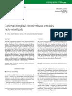 Cobertura temporal con membrana amniótica.pdf