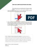 Pasos Para Crear Una Cuenta Electronica en Gmail 1