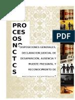 Trabajo-procesos No Contenciosos