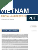 Vietnam Digital Landscape 2015